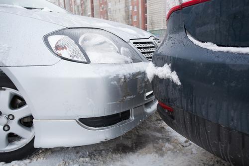 snow auto accidents